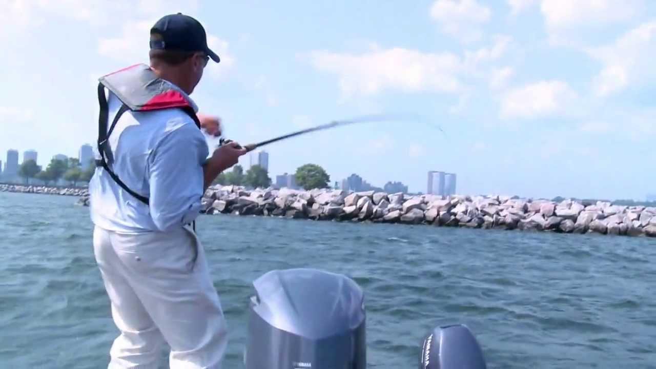 Fishing basics landing a fish youtube for Fisherman s landing fish report