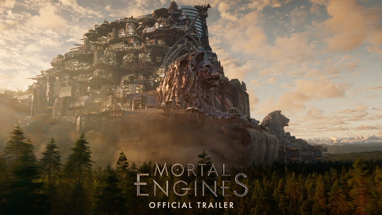 Mortal Engines - Official Trailer (HD) - YouTube