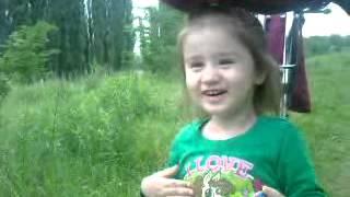 Вика и стрекоза )))