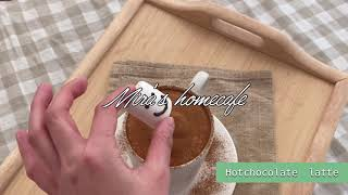 Mira's homecafe, 추운오늘 핫초코모카라떼 …