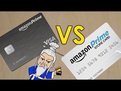 Amazon Prime Visa Rewards VS Amazon Prime Store Card