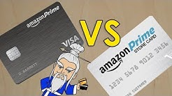 Amazon Prime Visa Rewards VS Amazon Prime Store Card