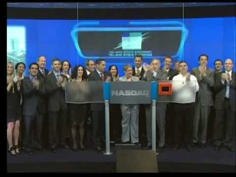 Tel Aviv Stock Exchange Opening Bell In Nasdaq - 17.05.2012