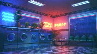 The Aesthetic Laundry 4K 🔴 Lofi Radio 24/7 🌃 Chill Lofi Hip Hop Beats to sleep/ study to