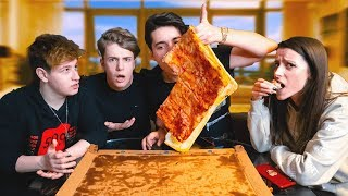MANANC CEA MAI MARE PIZZA CU 5GANG