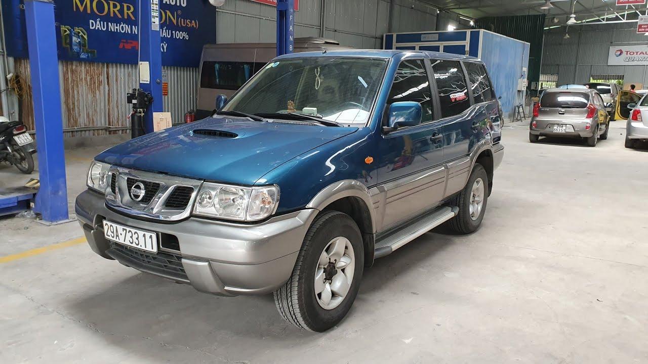 (Đã bán) Nissan Terrano 2.4L 4WD 2003 | Xe 2 cầu, 7 chỗ, gầm cao, option nhiều với chỉ 210 triệu