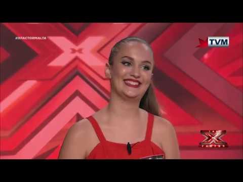 X Factor Malta - Auditions - Day 4 - Nicole Hammett
