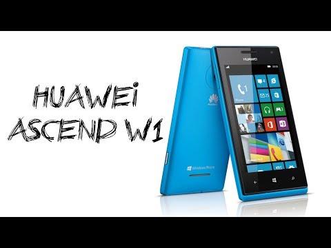 Huawei Ascend W1 Windows Phone Test, Prezentacja PL