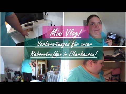 Vorbereitungen für Oberhausen!  MINI VLOG!  Reborn Ba Deutsch  Little Reborn Nursery