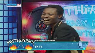 HENRY NDESAGU INTERVIEW ON NJATA #utheriwaruriri