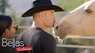 HORSE THERAPY for the Bella Family?! - Total Bellas Exclusive