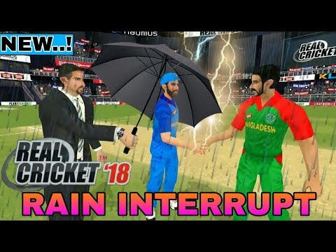 Real Cricket 18 | Rain interrupt Promo !! Amazing Promo !! Our Imagination