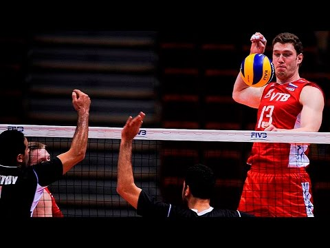 Dmitriy Muserskiy - Incredible Spike:375 | Block: 355 | Height: 218cm
