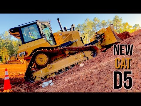 The New Cat D5 Dozer: Everything you need to know!