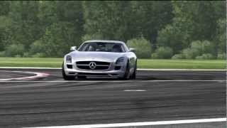 Mercedes-Benz SLS AMG Top Gear Track