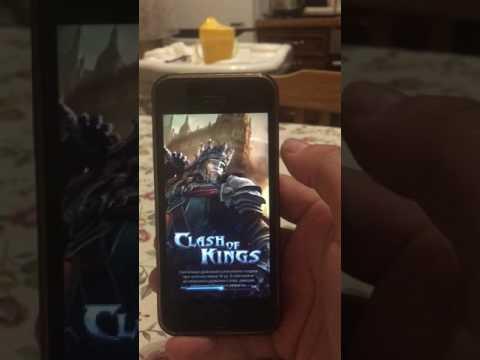 Clash Of Kings как на IPhone иметь много ферм Facebook