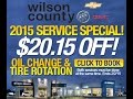 January Service Specials at Wilson County Chevrolet Buick GMC A Bone Family Tradition Since 1927
