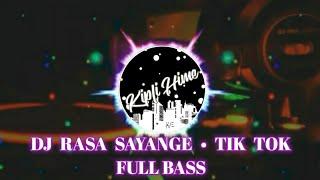 DJ RASA SAYANGE TIK TOK • DARI MANA DATANGNYA LINTAH DARI GUNUNG TURUN KE KALI (Remix Version)