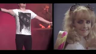 Marc Martel and Freddie Mercury - The Show Must Go On [Side-By-Side]