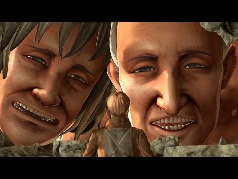 Attack On Titan: Wings Of Freedom PC Story Gameplay 5 Mikasa 2nd