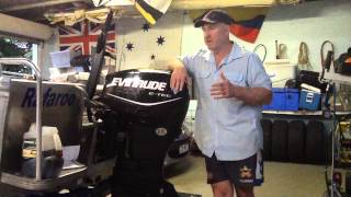 Evinrude ETEC 40HP Direct Injection 2 Stroke Outboard servicing