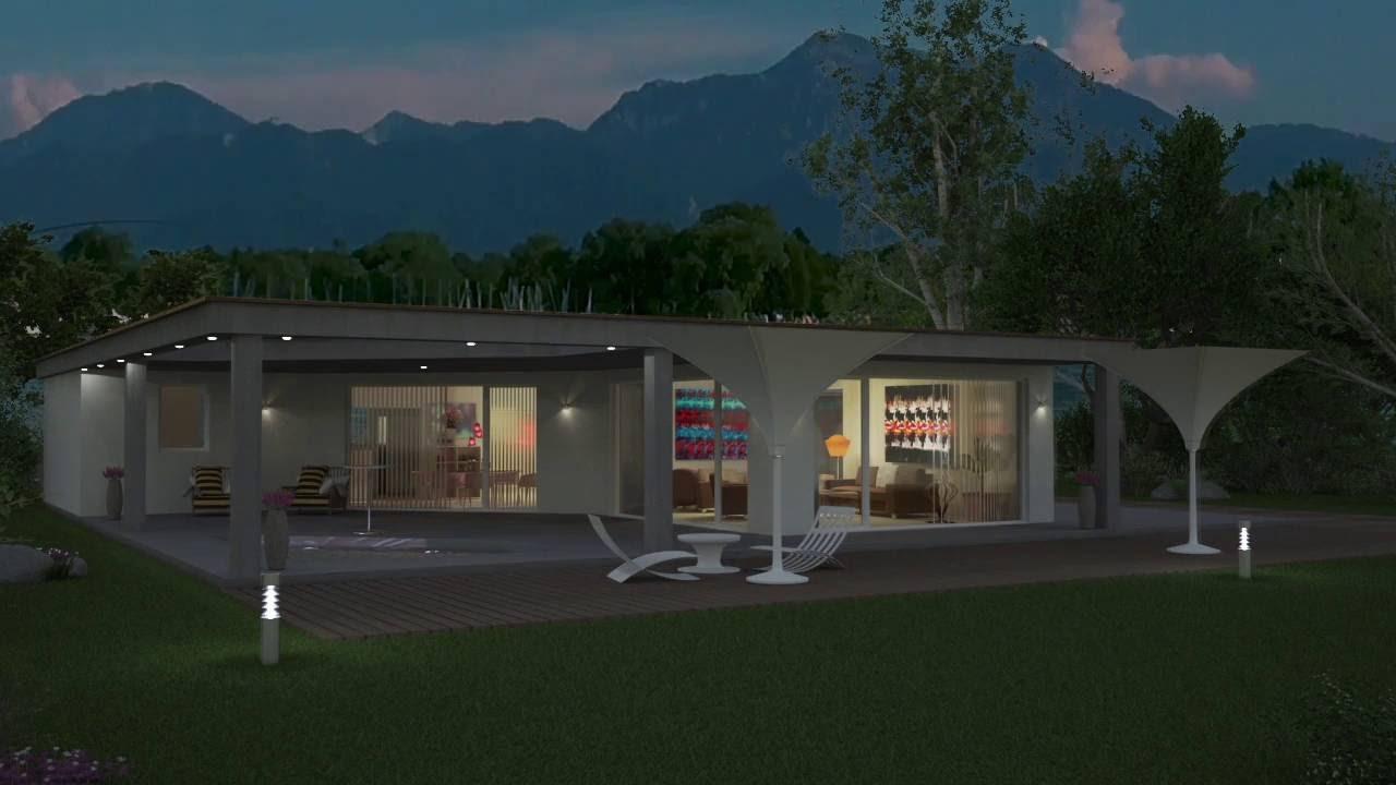 Flachdachbungalow Modern flachdach bungalow