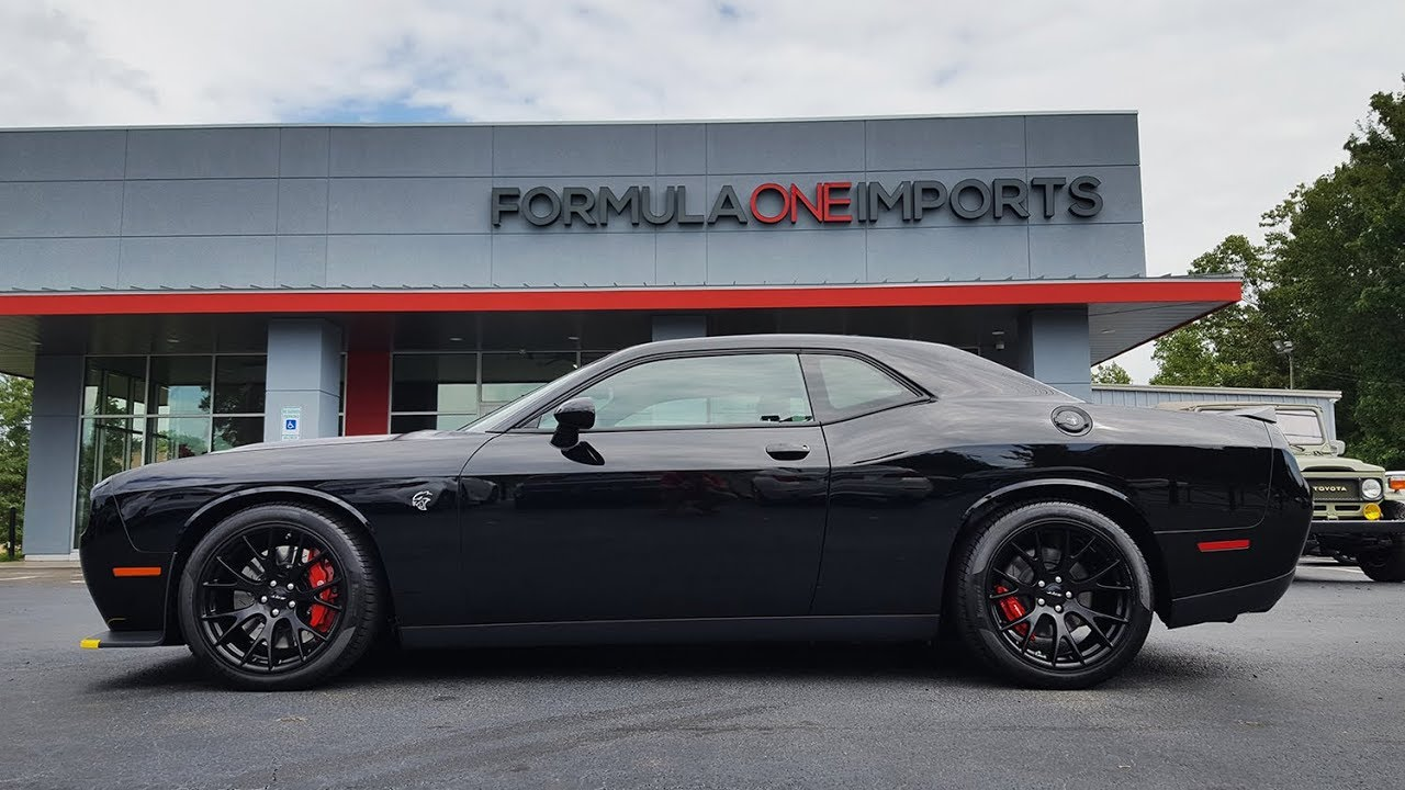 Dodge Hellcat For Sale >> 2016 Dodge Challenger Srt Hellcat For Sale Formula One Imports Charlotte