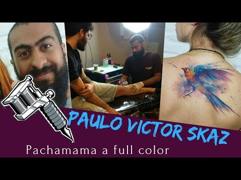 Paulo Victor Skaz|Tattoo artist|Pachamama a full color