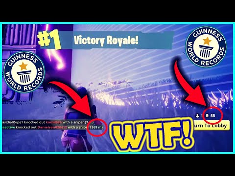 5 FORTNITE WORLD RECORDS THAT WILL NEVER BE BROKEN Fortnite battle royale