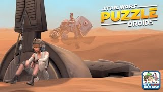 Star Wars: Puzzle Droids - When BB-8 Met Rey (iOS/iPad Gameplay)
