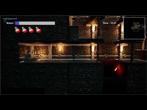 Procedurally Generated Dungeon Projectiles