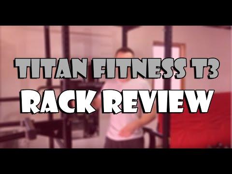 Titan Fitness T3 Rack Review