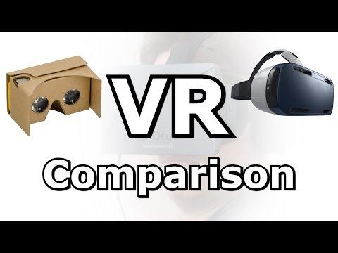 VR Comparison