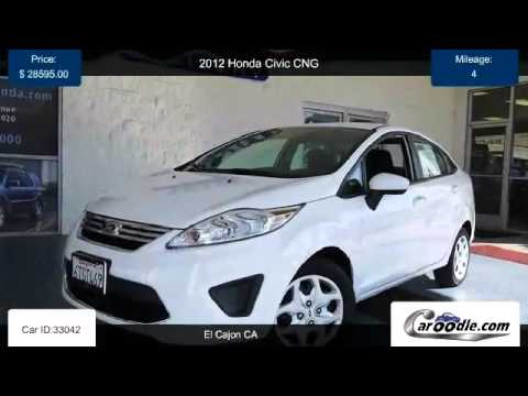 New 2012 Honda Civic CNG For Sale In El Cajon CA