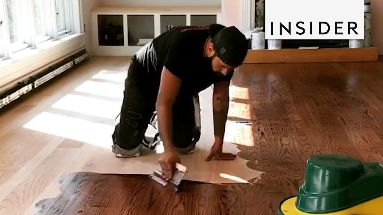 master of refinishing hardwood floors