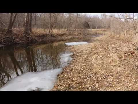 Arrowhead Hunting - Missouri Arrowheads - 2/16/14 Creek Hunt Archaic Basal  Notch Find