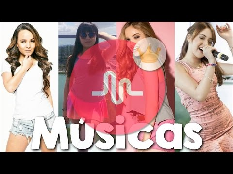 Musical.ly da Lari Manoela, Gi Chaves, Mha Fernanda e Bia Jordão com nome das Músicas