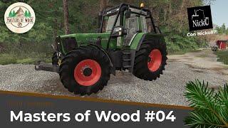 MASTERS OF WOOD #04 [NUOVA SERIE]  - IL NUOVO FENDT 926 FAVORIT VARIO FORESTALE!  | FS 19 Holmakra