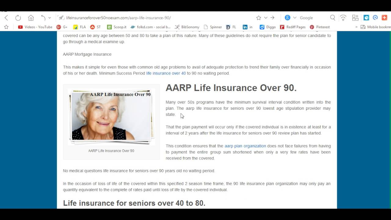 Life Insurance Quotes For Seniors Over 80 Aarp Life Insurance For Seniors Over 80  44Billionlater