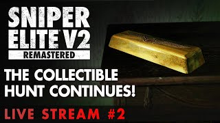Sniper Elite V2 Remastered - The Collectible Hunt Continues!