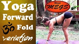 Yoga Pose Standing Forward Fold Variation - Uttanasana