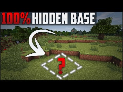 Minecraft: How To Build A Secret Base Tutorial (#5)