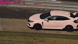 Former Formula 1 World Champion Jenson Button leads Honda's Civic Type R Ti
