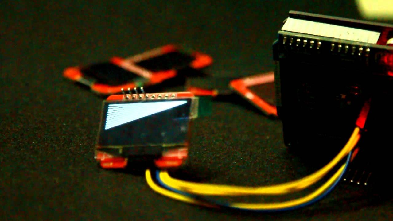 Arduino i c spi quot oled ssd module youtube