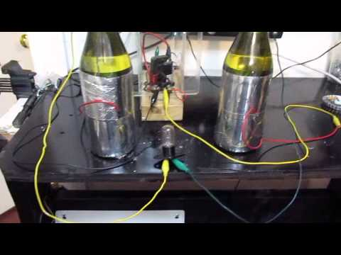 12V Cold Electricity and Recycled parts.