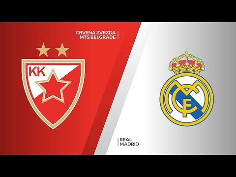 Crvena Zvezda Mts Belgrade - Real Madrid Highlights | EuroLeague, RS Round 7