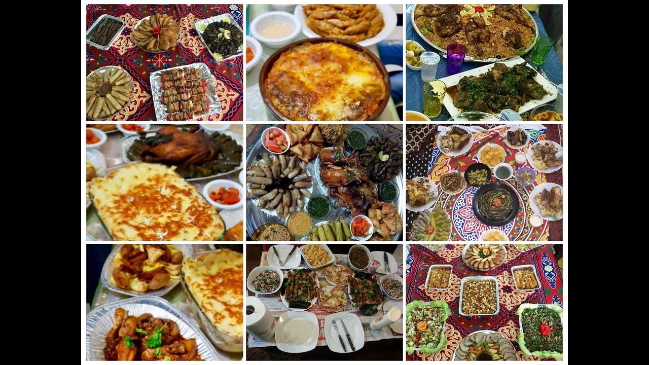 عندك عزومة في رمضان وعاوزة اكل يشرف منيو عزومات شهر رمضان 2020 Youtube