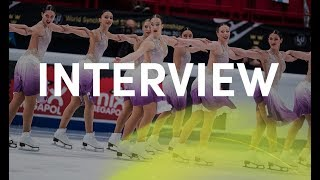 Interview Team Hot Shivers (ITA)   World Synchro   Stockholm 2018