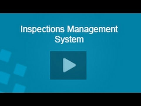 Inspections Management System
