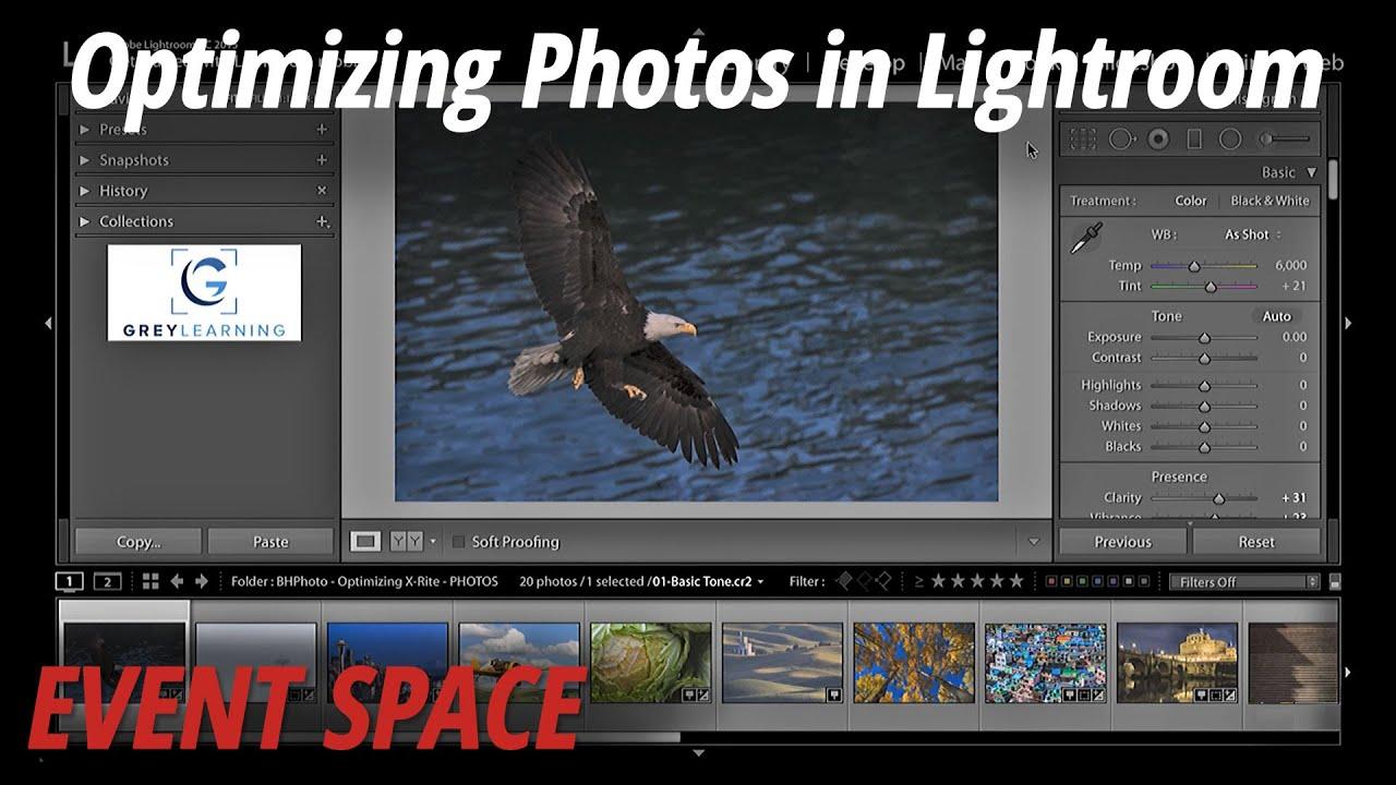 Optimizing Photos in Lightroom CC 2015